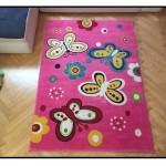 Motylki różowe