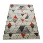 trójkąciki-orange-turkus